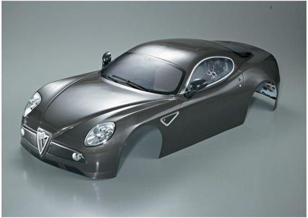 Alfa Romeo 8C Silver-grey 1:7 XO-1