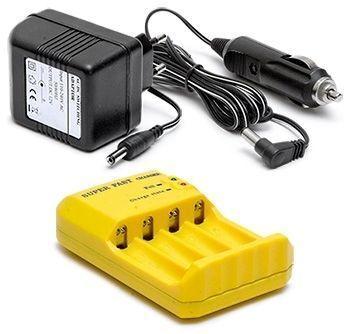Battery Charger 12/230V 4xAA/AAA NiMH