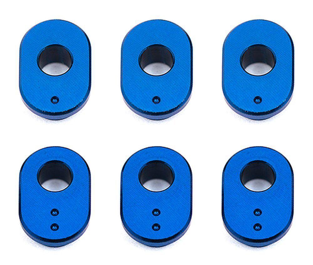 RC10F6 Camber Bushings aluminum