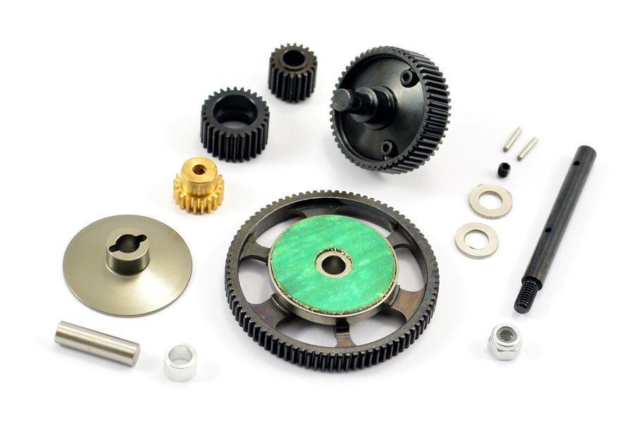 SCX10 Stahl-Getriebesatz