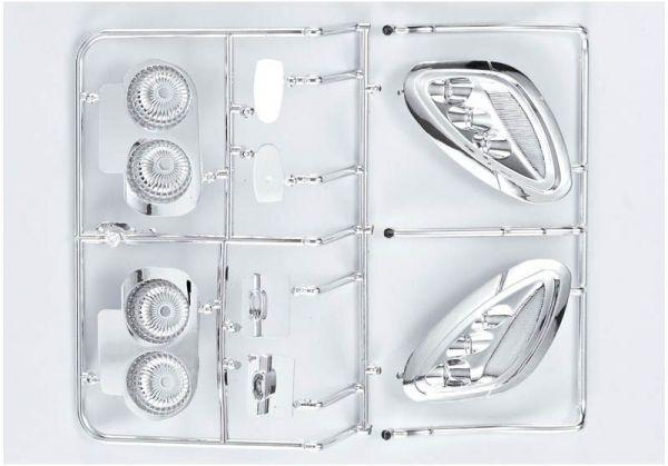 """Corvette GT2 """"1/7"""", Chrome parts (mirrors, etc.)"""