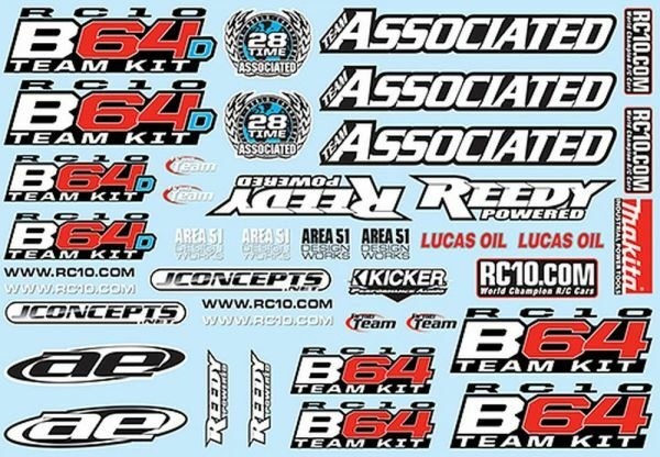 B64 Decal Sheet