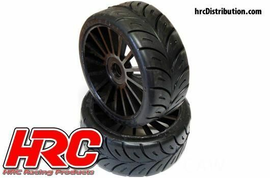 1:8 Buggy Rally Game Radials black (2)