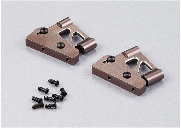 """Rear Wing Mount CNC Alloy, Low Gray """"1/7"""""""